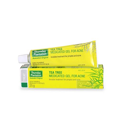 星期四農莊茶樹凝膠Tea Tree Medicated Gel For Acne(25g)