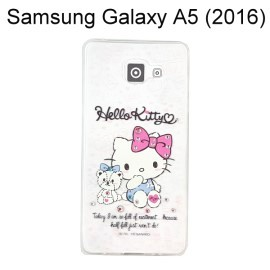 Hello Kitty 彩鑽透明軟殼 [寶貝] Samsung A510Y Galaxy A5 (2016)【三麗鷗正版授權】