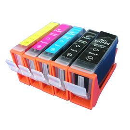 【台灣耗材】CANON 相容墨水匣(含晶片)CLI-8BK黑CLI-8C藍CLI-8M紅CLI-8Y黃 單顆任選 適用CANON IP3300/IP3500/IP4500/IX4000/IX5000印..