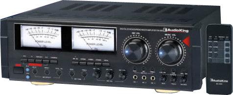卡拉OK擴大機 擴大機 Audio King SA-900大功率220W+220W動態擴展、EQ雙功能專業擴大機 卡拉OK伴唱機擴大機 卡拉OK擴大機☆另可搭配其他型號伴唱機音響組
