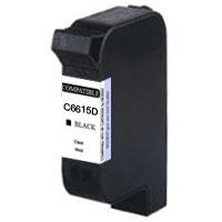 HP C6615D(15)【台灣耗材】HP C6615D(15) 環保黑色墨水匣適用HP DJ-810C/840C/845C/920C/948C/OJ-v40/psc500/pcs750/810C/8..