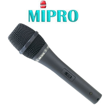 MIPRO 嘉強MM-707B 心型電容式有線麥克風.上課教學.唱歌專用