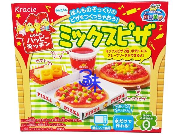 (日本) Kracie 可利斯 手工diy 餅乾-pizza組合1盒 30公克 特價 123 元【 4901551354863】( 知育果子創意DIY手做披薩 Kracie 快樂廚房手作披薩 )
