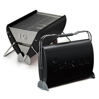 可攜式多功能烤肉爐/燒烤爐/焚火台/不鏽鋼烤肉架 O-Grill IG-10 (經典黑)