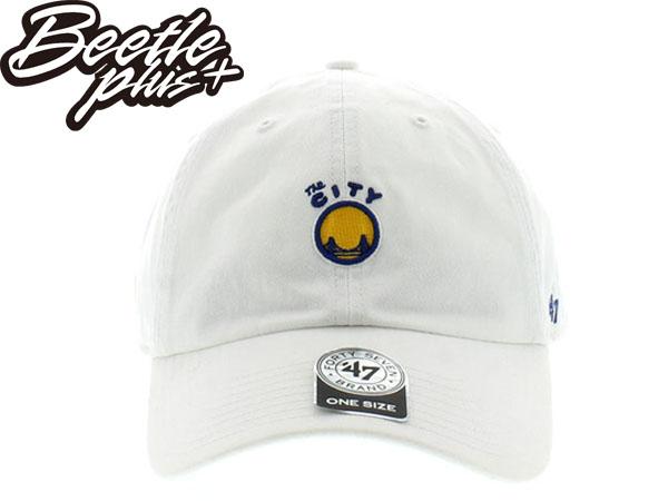 BEETLE 47 BRAND 老帽 金州 勇士 GOLDEN STATE WARRIORS DAD 總冠軍 NBA 白 MN-368