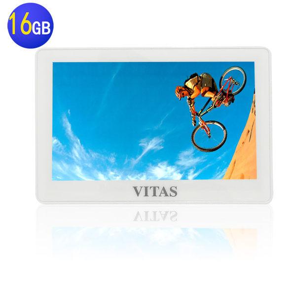 【送第二顆電池】VITAS X5000 5吋觸控式 MP5 16G~多媒體播放器/MP4隨身聽/MP3隨身聽