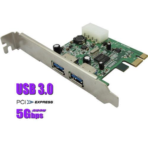 【盈佳資訊】PC專用USB 3.0 PCI Express 轉接卡