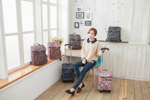 【加賀皮件】妮柏兒 Nuport 多色 實用 兩用背包 拉桿旅行袋 購物袋 PS001