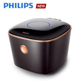 IH電子鍋-曜石黑(HD4568)送黑晶爐(HD4990)。飛利浦 PHILIPS