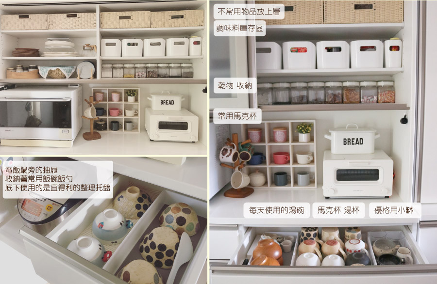 廚櫃收納照