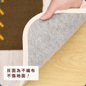 吸濕發熱地毯 圖騰風
