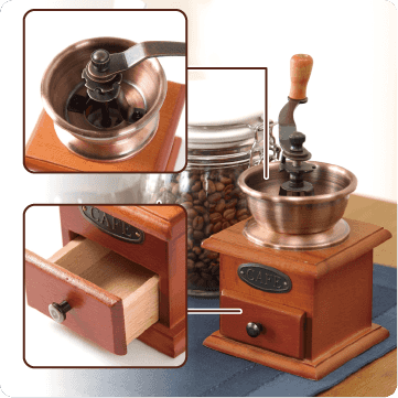 懷舊陶製磨咖啡機