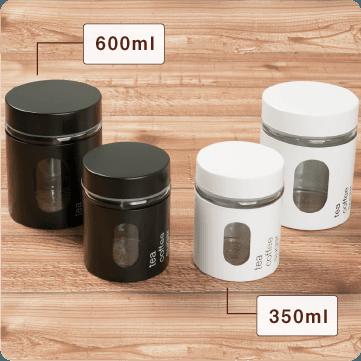 玻璃保存罐 350ml