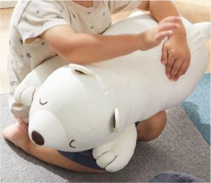接觸涼感 北極熊抱枕