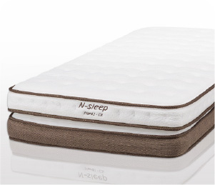 雙層獨立筒彈簧床墊