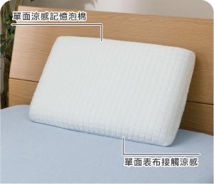 接觸涼感 涼感記憶枕