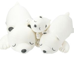 接觸涼感 抱枕 北極熊