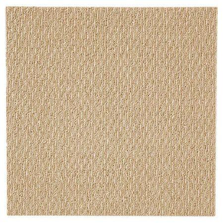 黏著式組合地毯 PONY MUJI BE 40X40