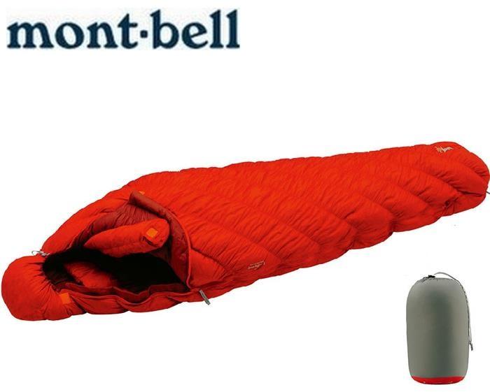 Mont-Bell 羽絨睡袋/登山睡袋/彈性斜紋輕量登山羽絨睡袋 800FP #1 1121289