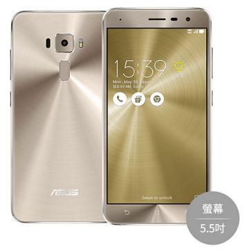 門市拆封新品 全新ASUS華碩ZenFone 3 4G 64GB(ZE552KL) 金色 現貨 含發票