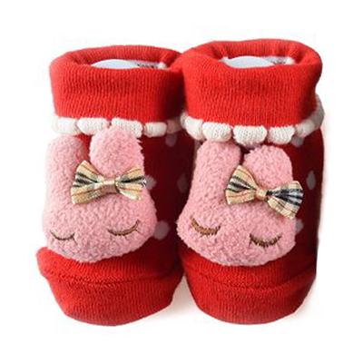 【悅兒樂婦幼用品?】PEIBOU 貝柔 妮妮兔可愛鞋型襪(P6790)
