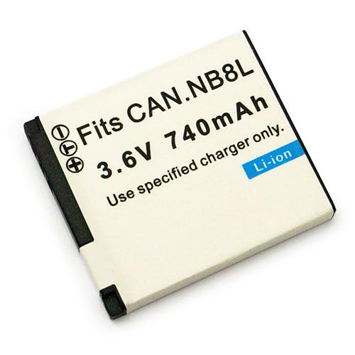 Canon NB-8L NB8L 相機電池 A3000IS A3100IS A3000 A3100 A3300 A3200 A2200 740mAh