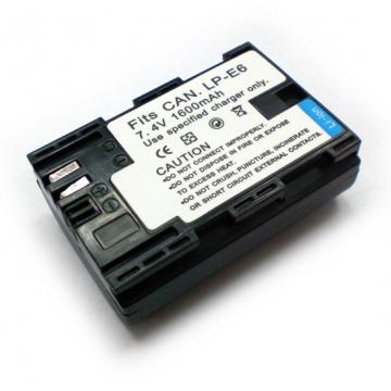 Canon LPE6 LP-E6 相機電池 EOS 5D MARK II 7D 5D II 5D2 MARK 2 60D Mark III 5D3 1600mAh 適用原廠充電器 破解版