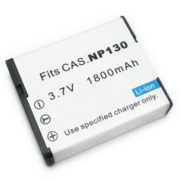 CASIO NP130 NP-130 相機電池 EX-ZR100 EZ-H30 EXZR100 EZH30 ZR1000 ZR1200 ZR1500  1800mAh