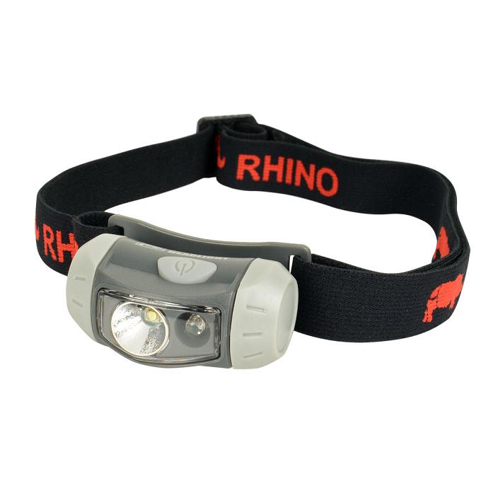 《台南悠活運動家》Rhino 犀牛 雙光源LED頭燈/登山露營 夜遊 自行車 HL-100
