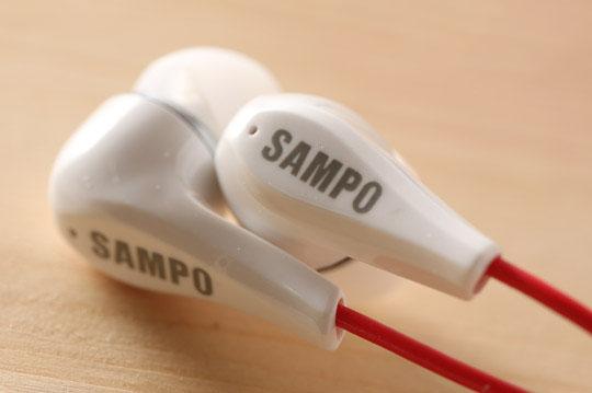 聲寶SAMPO氣密式耳機