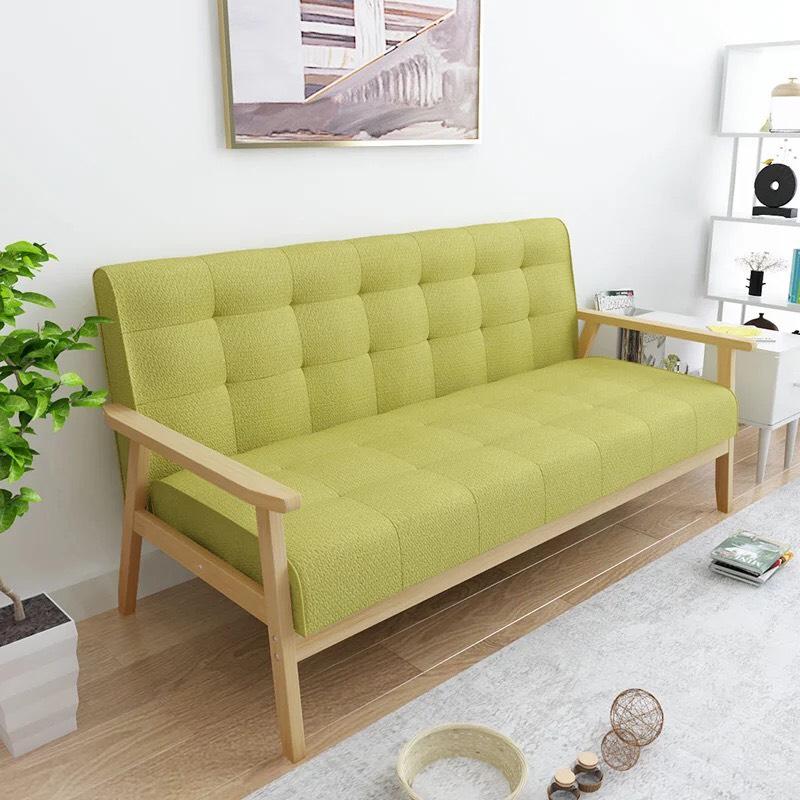 【新生活家具】布沙發 亞麻布 皮沙發 三人沙發 綠色 北歐風 《悠閒午後》工廠直營 非 H&D ikea 宜家