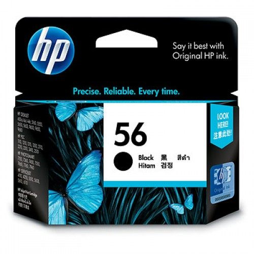 【HP 墨水匣】 HP C6656A (C6656)/NO.56 原廠黑色墨水匣