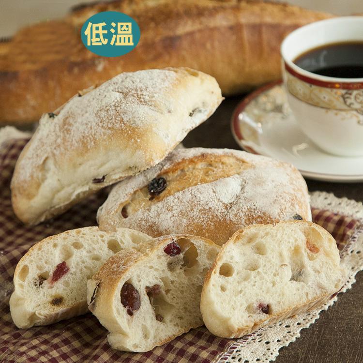 [蕃薯藤有機]有機蔓越莓葡萄乾麵包/個(N-W/C)從烘焙坊到麵包食材,皆經過有機認證,絕對讓您吃得安心又美味!