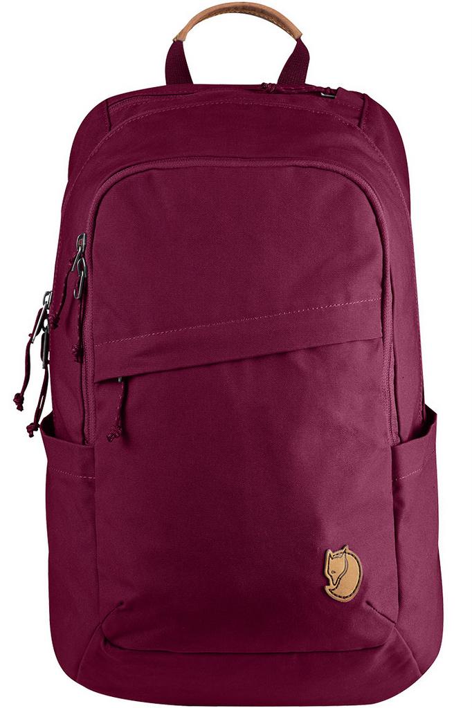 Fjallraven 瑞典北極狐 Raven 20L 15吋筆電背包/筆電包 瑞典書包/電腦包 26051 420 紫紅