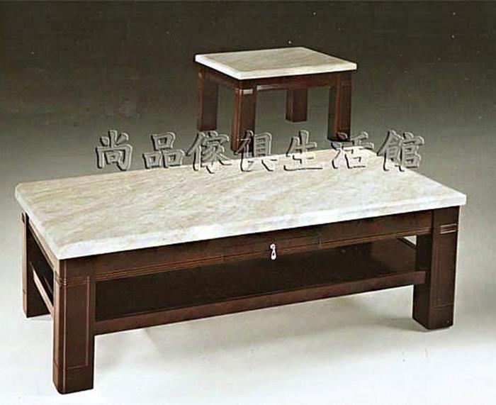 【尚品傢俱】SY-LE-160 琥珀玉大理石大茶几(4.3尺)