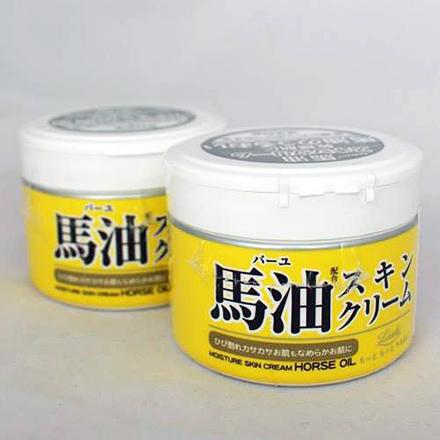 【敵富朗超巿】COSMETEX ROLAND 馬油保濕乳霜LOSHI Horse Oil Moisture Skin Cream
