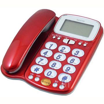三洋 SANYO 來電顯示有線電話機 TEL-986