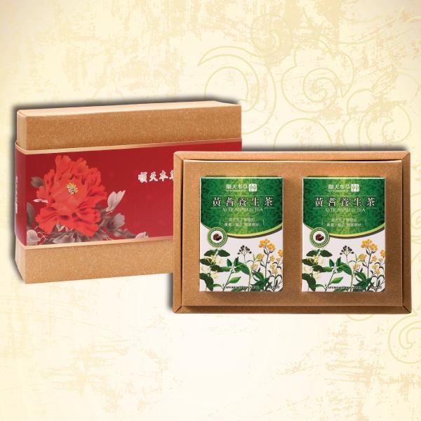 順天本草【茶飲禮盒】(黃耆養生茶2盒)