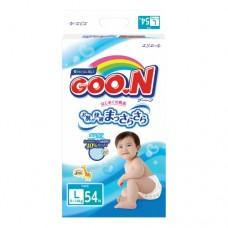 『121婦嬰用品館』大王 境內版尿布 L (54片*4包/箱)