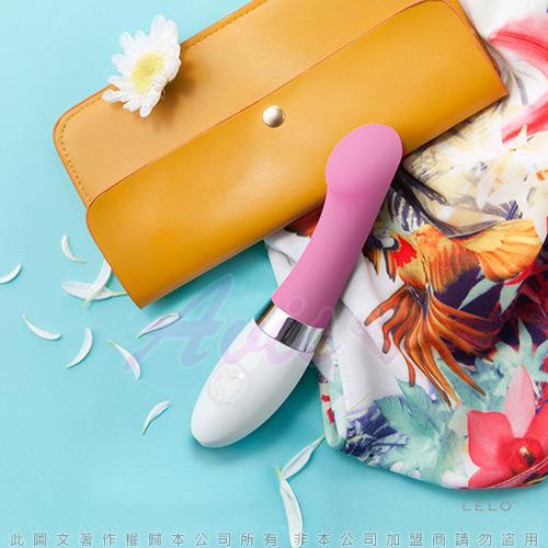 瑞典 LELO◆轉角遇到愛-GIGI 2 魔力G點震動器◆粉紅色<加贈超值好禮三重送>情趣線上