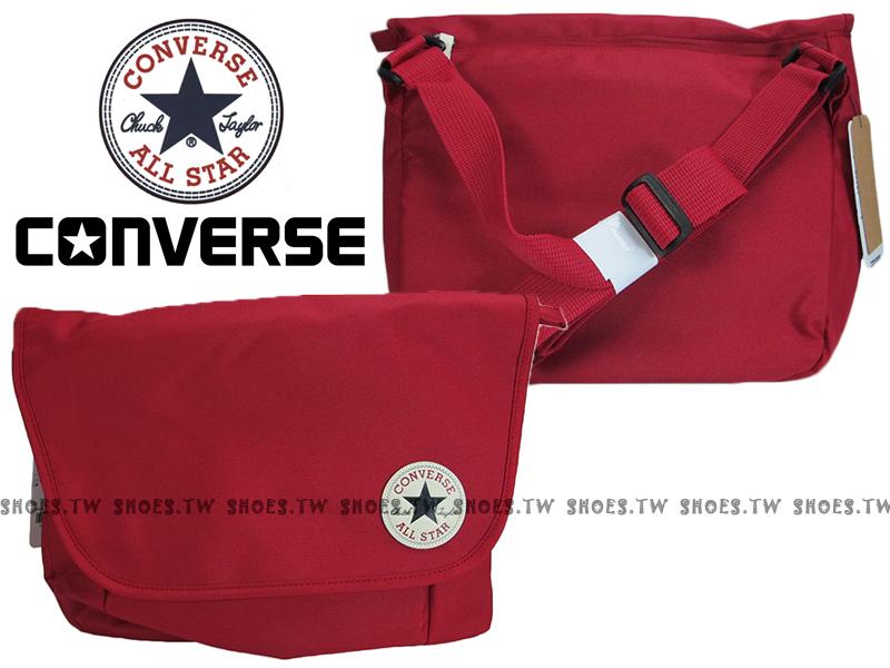 【12596C611、10002974A02】CONVERSE ALLSTAR 郵差包 紅色 隨行包 側背包