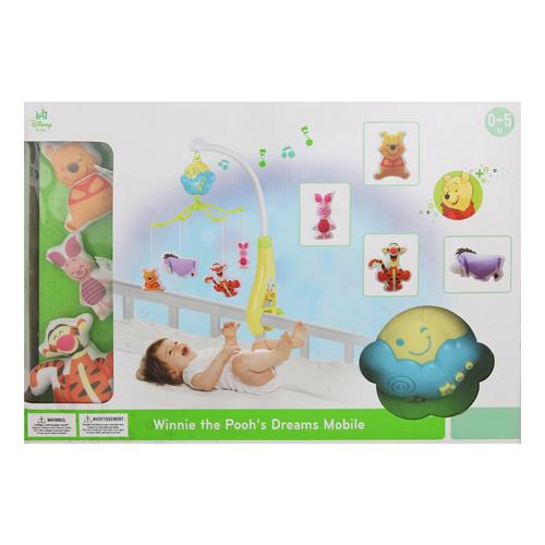 迪士尼嬰兒玩具/維尼床邊音樂鈴/小熊維尼/Disney/迪士尼/Disney Winnie the Pooh\