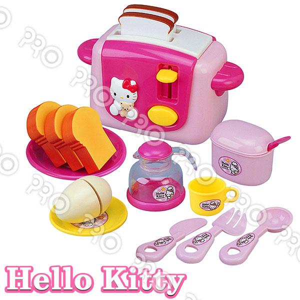 HELLO KITTY烤麵包機/HELLO KITTY/扮家家酒/角色扮演/三麗鷗 1101kttoy
