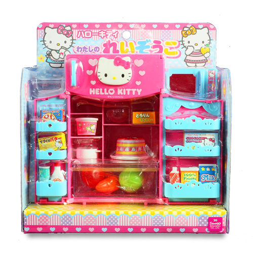 KT可愛小冰箱/Kitty/Hello Kitty/扮家家酒/角色扮演/三麗鷗/公仔/