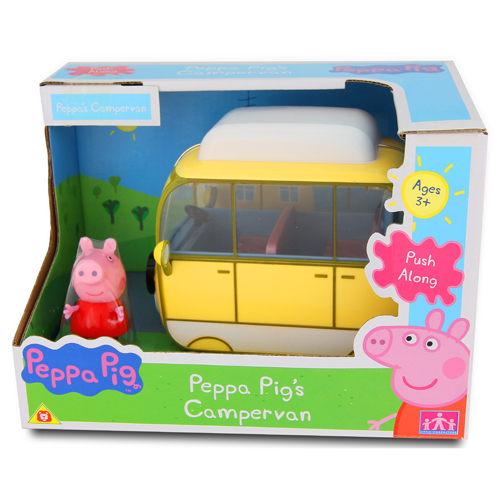 粉紅豬小妹露營車/粉紅豬/peppa pig\