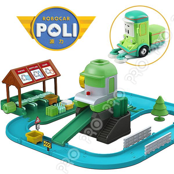 資源回收站/內附克里尼/ROBOCAR POLI/ 波力/ 救援小英雄//兒童玩具/幼兒玩具/免運費