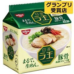 日清5食拉王包麵-豚骨420g