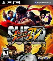 PS3 超級快打旋風4(可免費升級AE版) Super Street Fighter 4 -英日文美版-