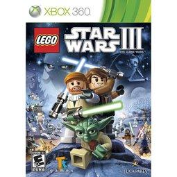 XBOX 360 Lego Star Wars3:Clone War 樂高星際大戰3:複製人之戰-英文版-