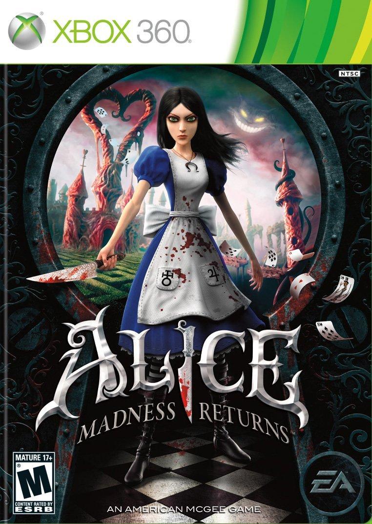 XBOX 360 愛麗絲驚魂記:瘋狂再臨(附一代下載) Alice:Madness Returns -英文美版-